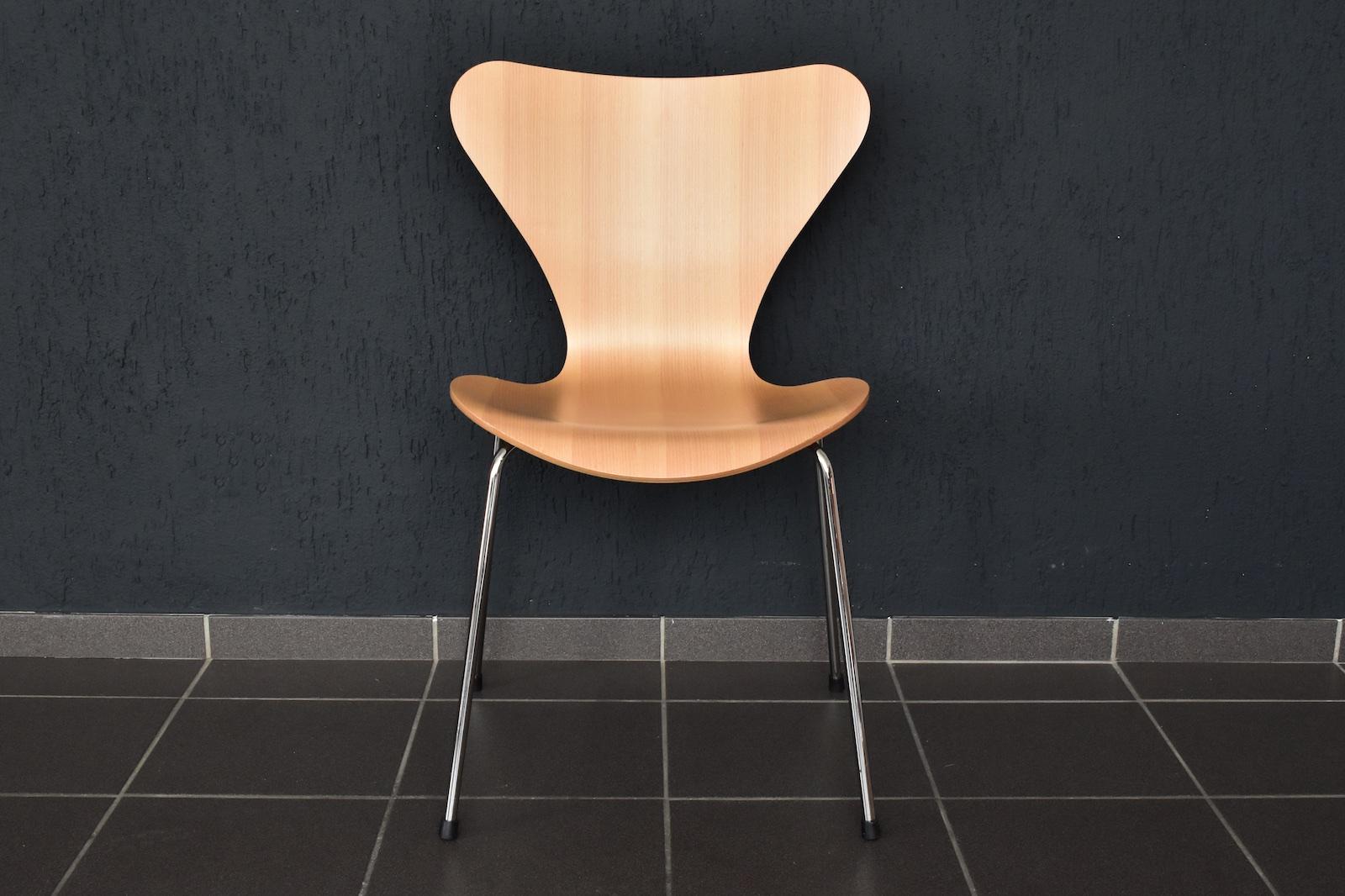 1x Top Fritz Hansen Stuhl 3107 Arne Jacobsen Chair 44cm Von 2010 EBay